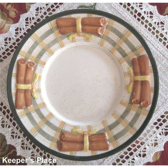 Yankee Large Candle Jar Plate BANANA NUT
